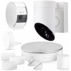 Somfy Home Alarm + Indoor Camera + Outdoor Camera Hvid