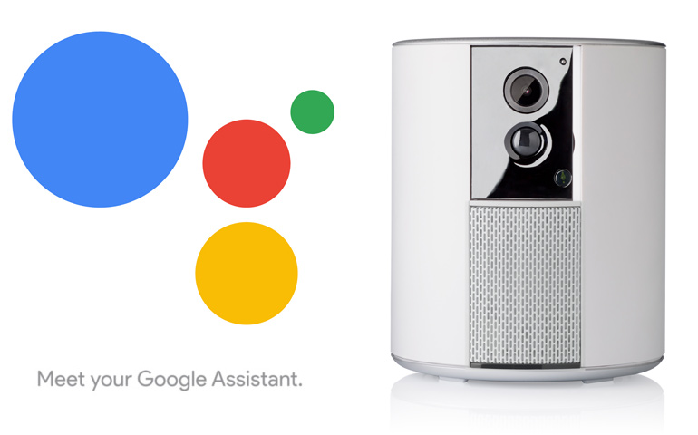 Somfy Protect kompatibel med Google Assistant