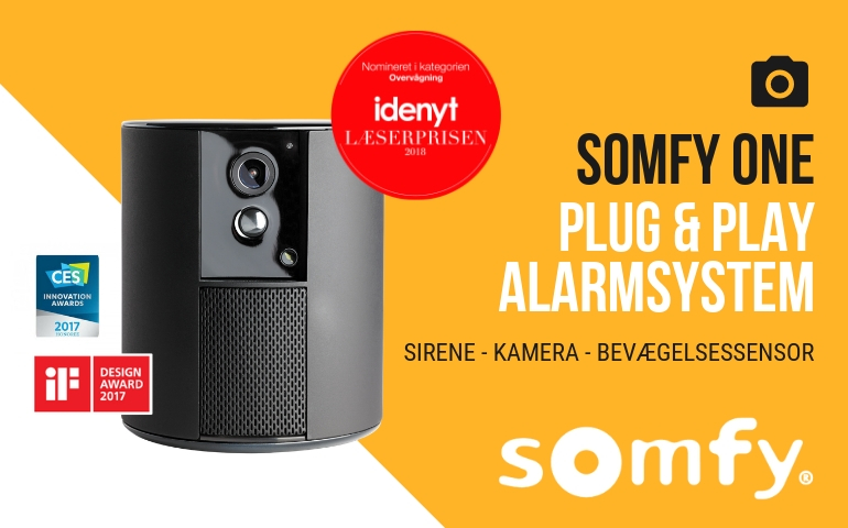 KONKURRENCE ➜ VIND SOMFY ONE